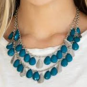 Life of the FIESTA - Blue Necklace Set